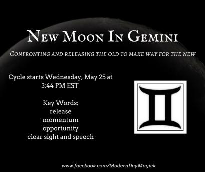 New Moon In Gemini
